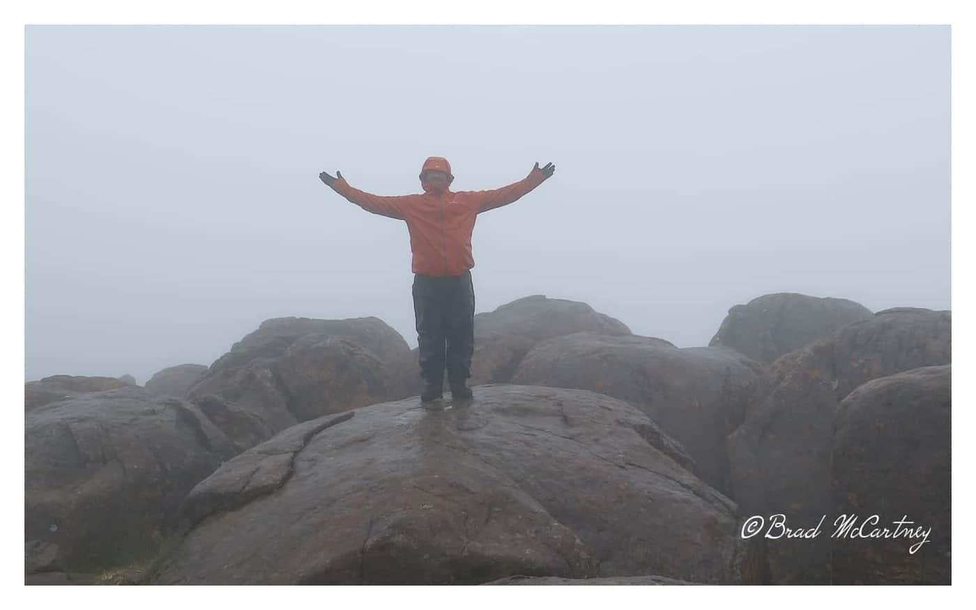 Summit of Mt Ossa