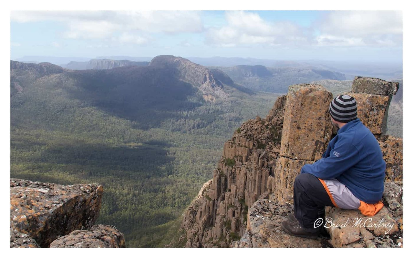 On top of the Acropolis, Overland Track