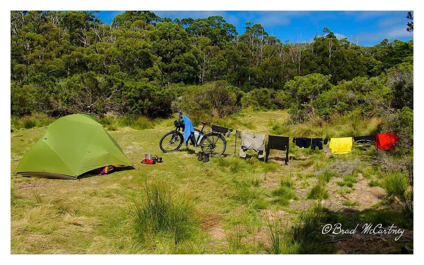 Campsite at Cockle Creek