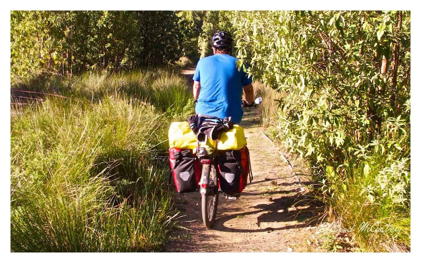 cycling the inland track