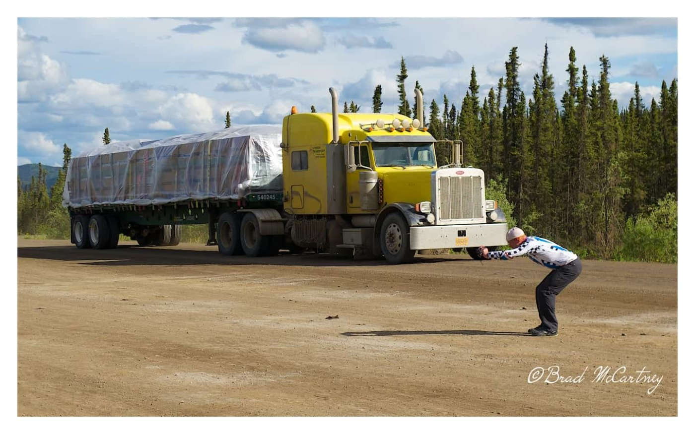 trucks on the dalton highway