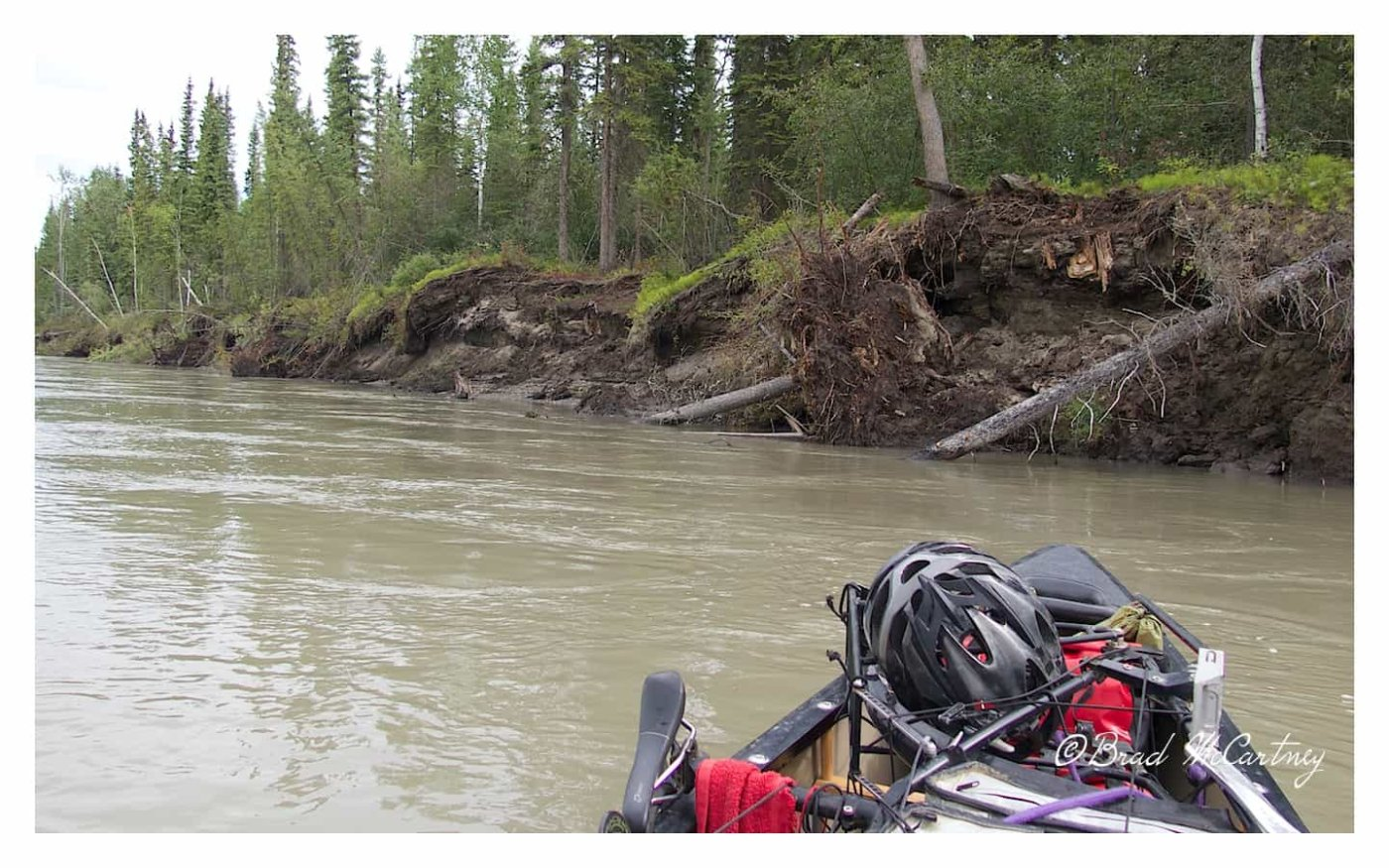 Erosion of the riverbanks is ongoing. Buildings, gravesites and whole Islands have eroded into the river to make new Islands further downstream as the river changes over time