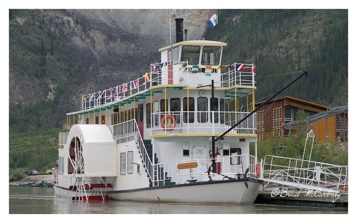 At one time there were as many as 250 paddlesteamers working the Yukon River