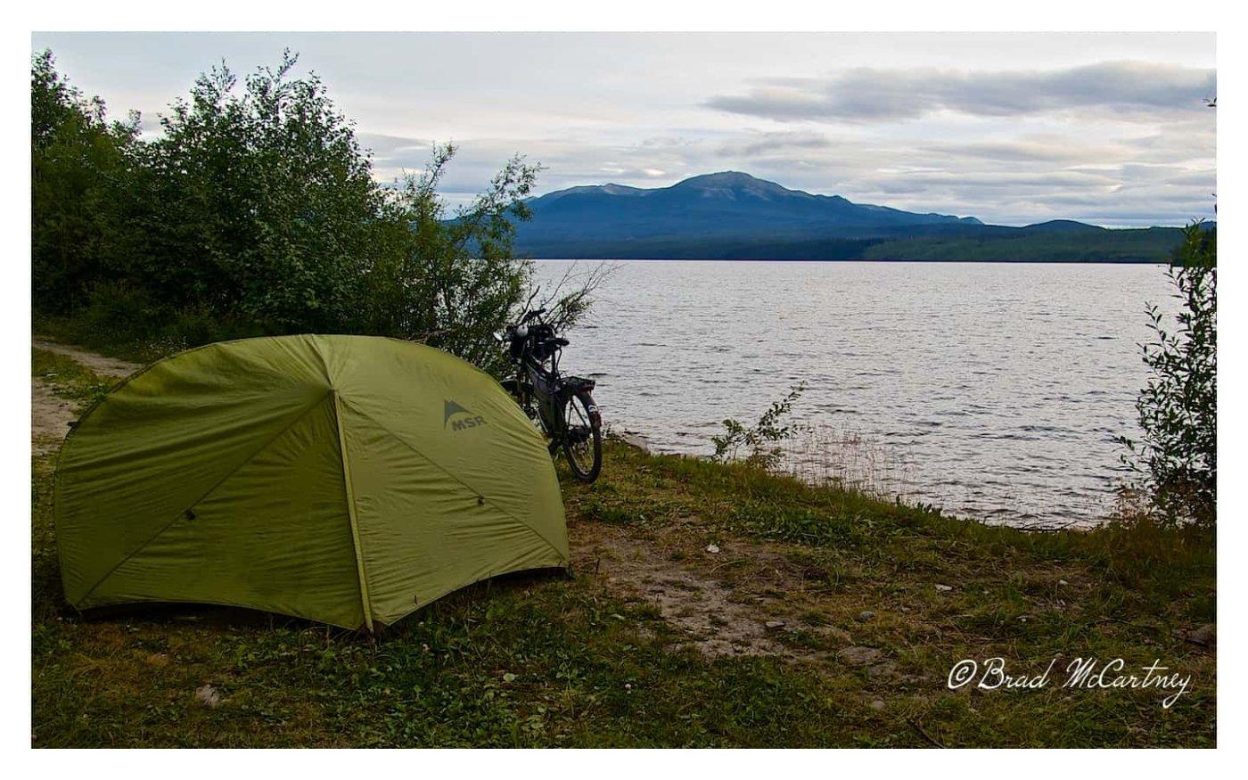 Robert Campbell highway camping