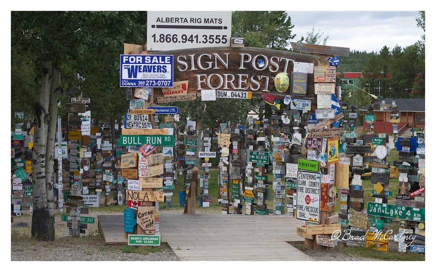 Watson signpost