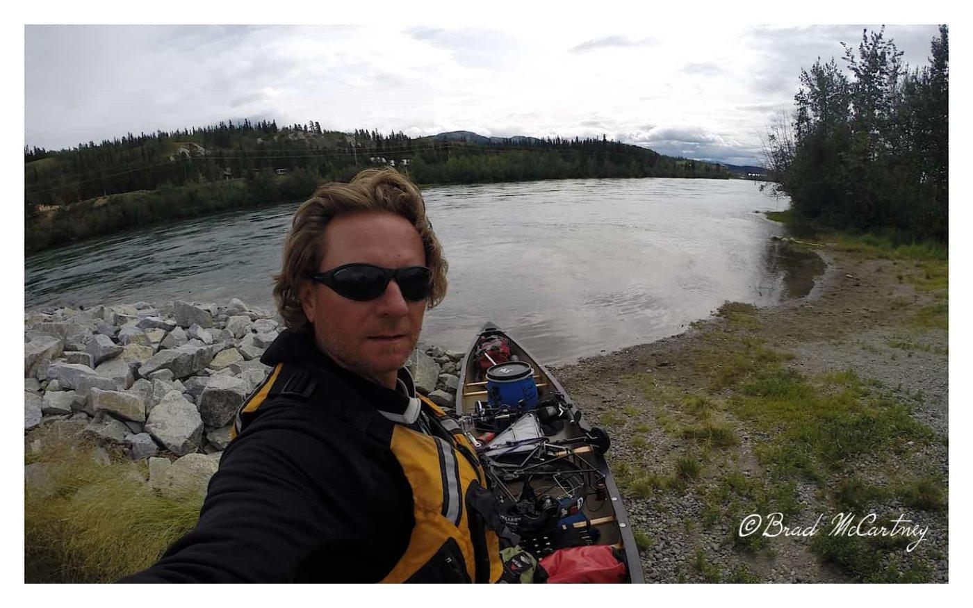 Whitehorse on the Yukon River