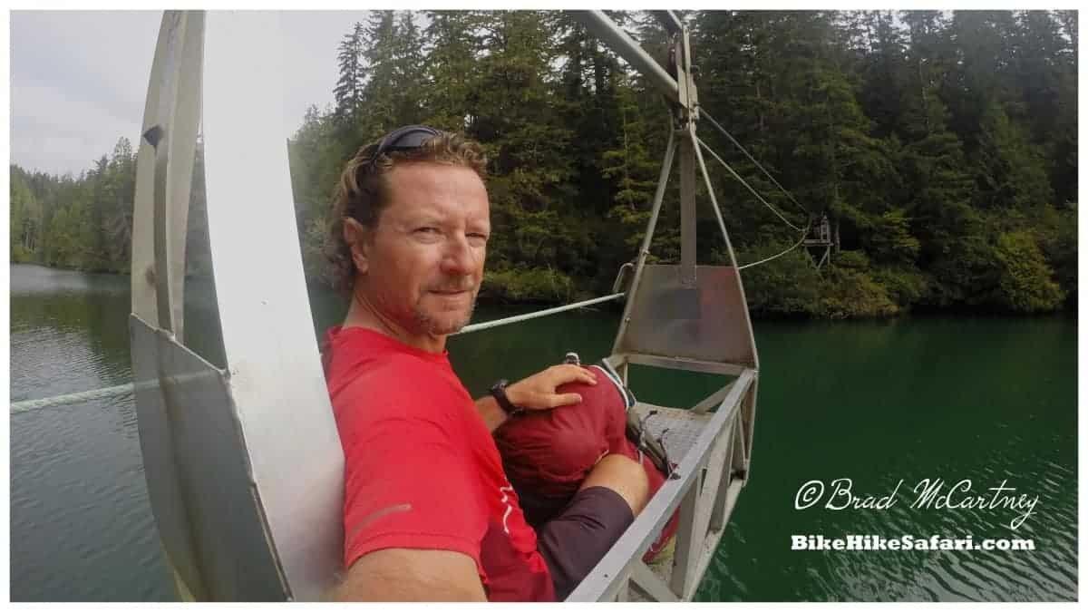 west coast trail river crossing