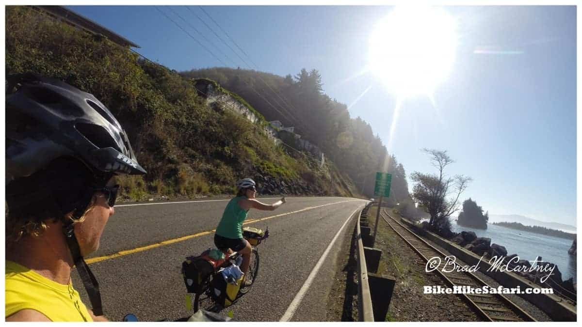 Cycling the Oregon Coastal Cycle Route