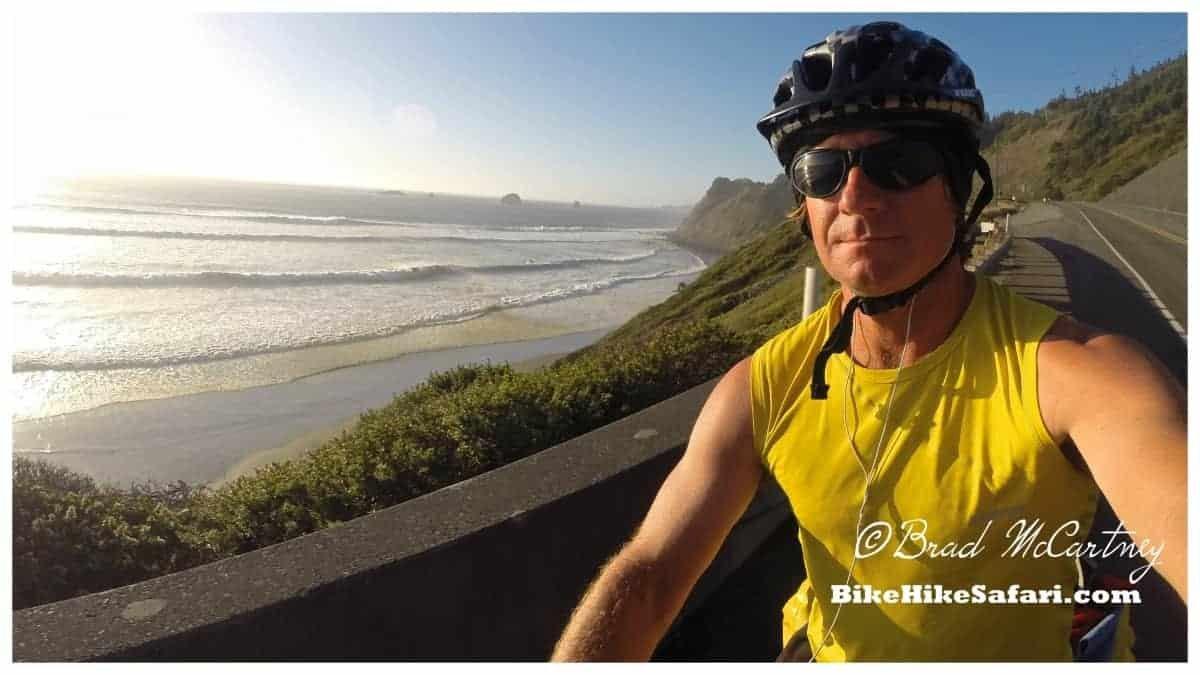 Cycling coastal Oregon