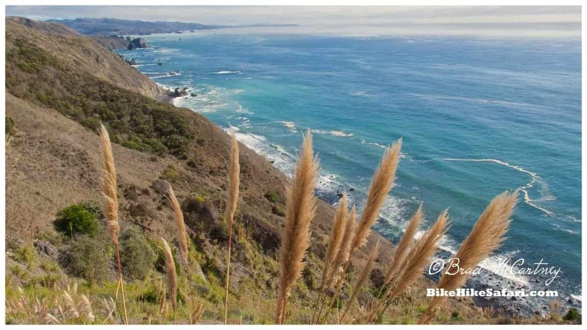 bicycle touring the rugged coast