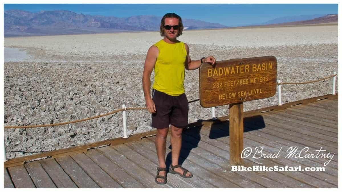 The lowest point in North America