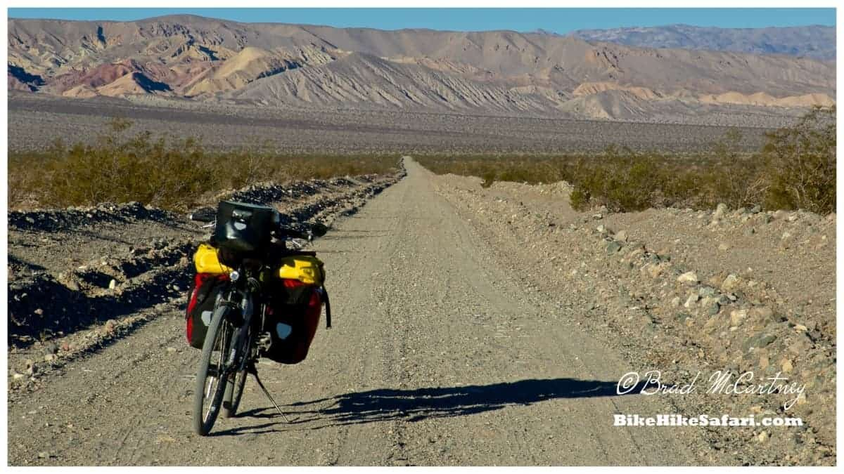 Nearing the end of the dirt road