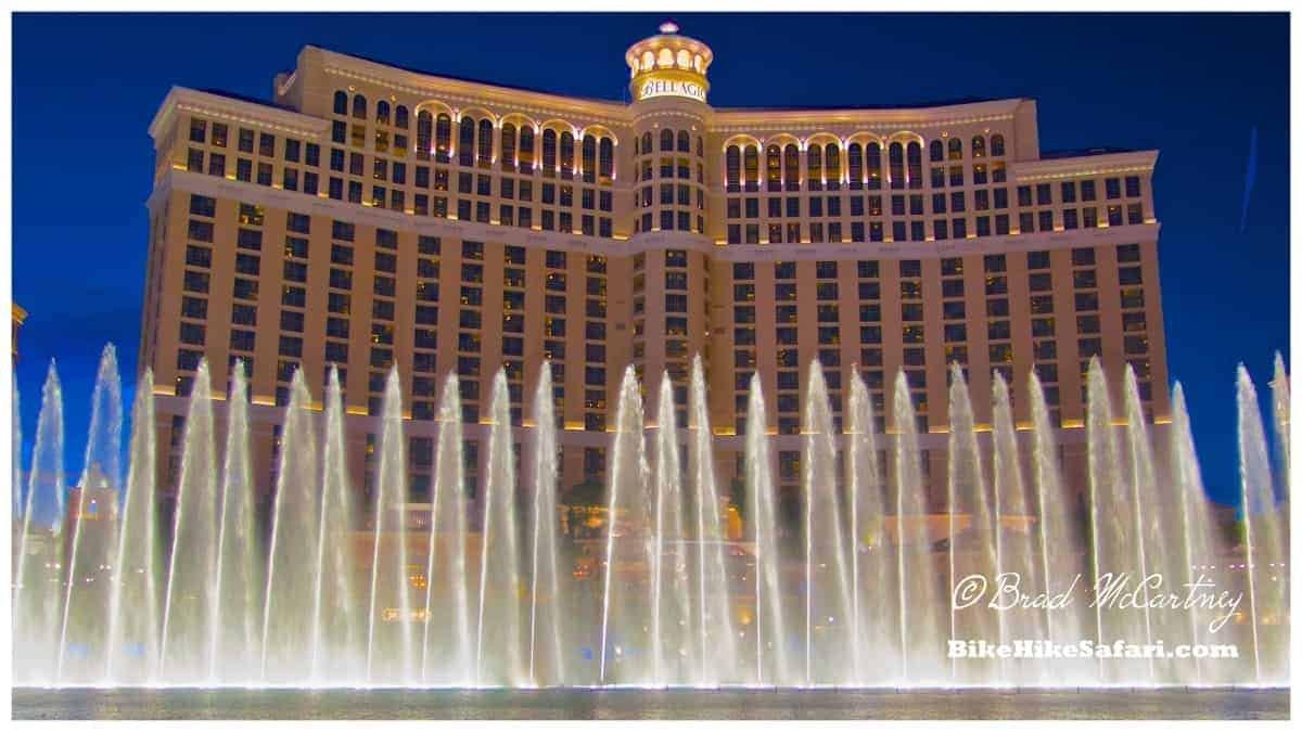 Bellagio and fountains again