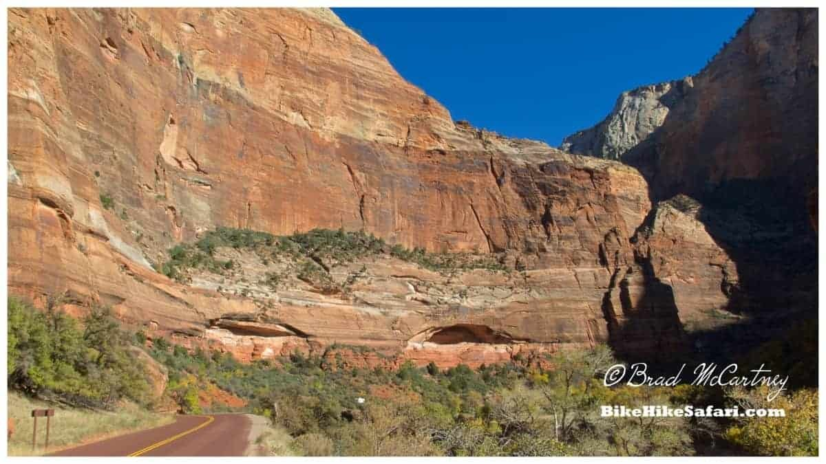 More stunning sections of road, also with rockclimbers