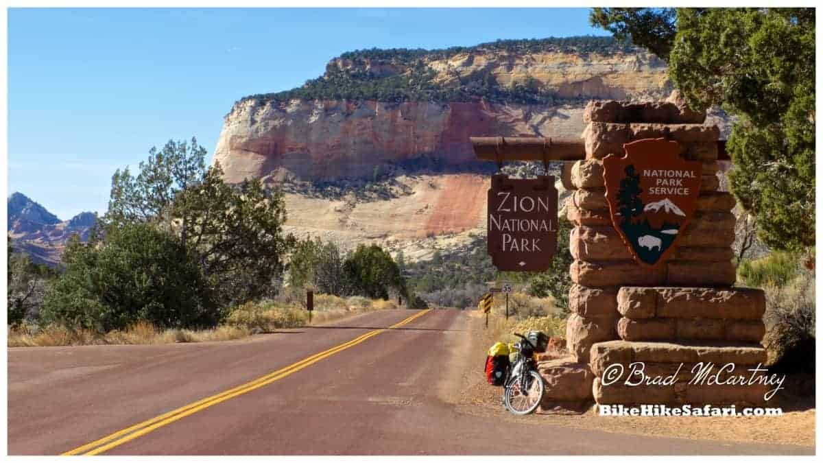 Goodbye Zion National Park