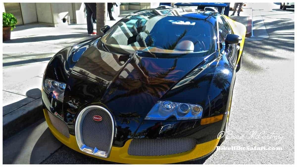 Bike for Bugatti, not quite a fair trade