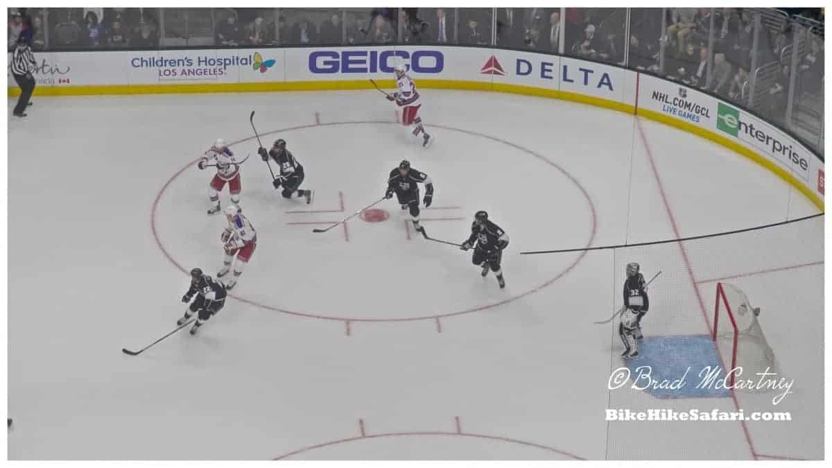 NY Rangers vs LA Kings Hockey