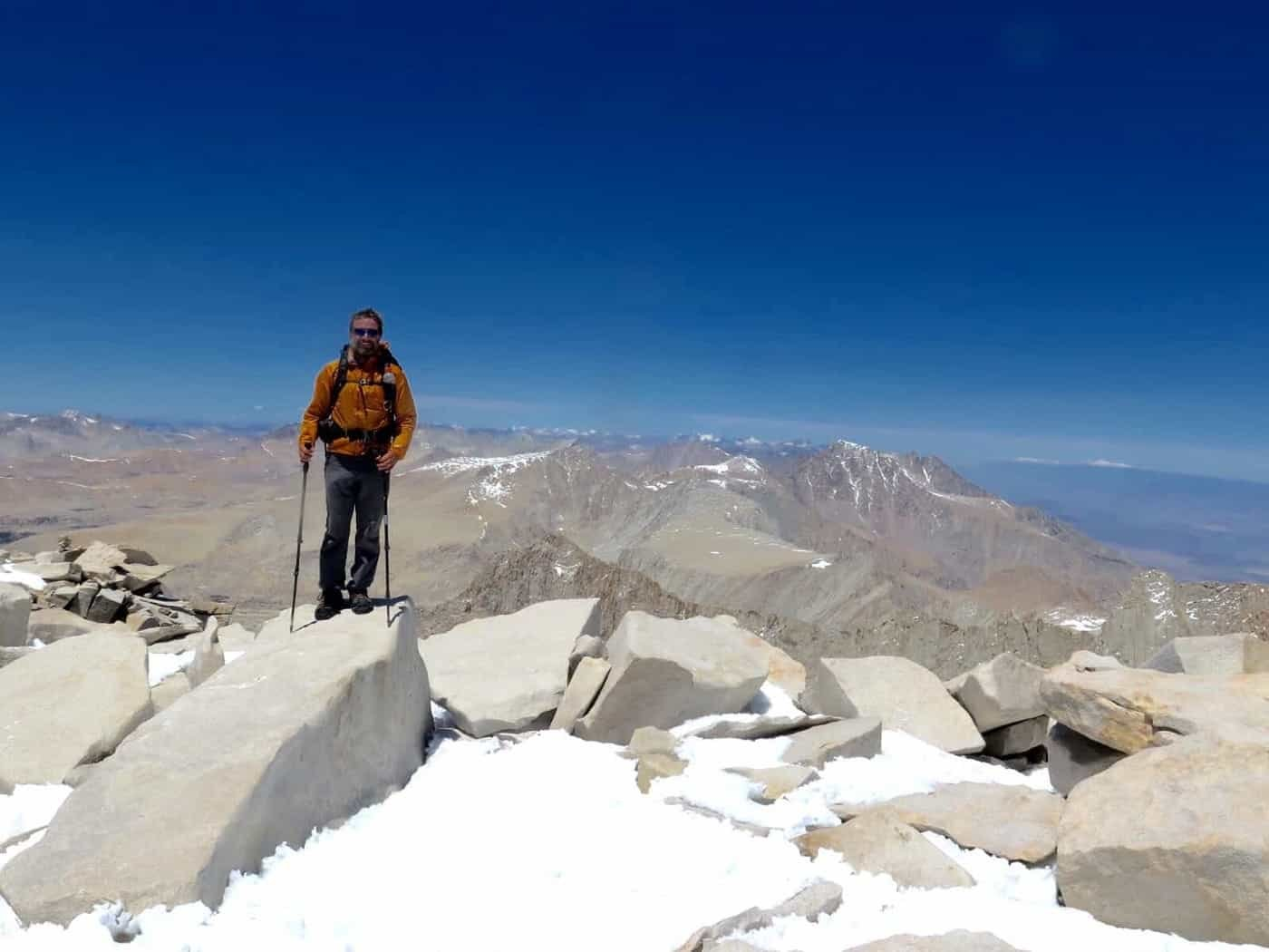 Climbing Mt Whitney Pacific Crest Trail