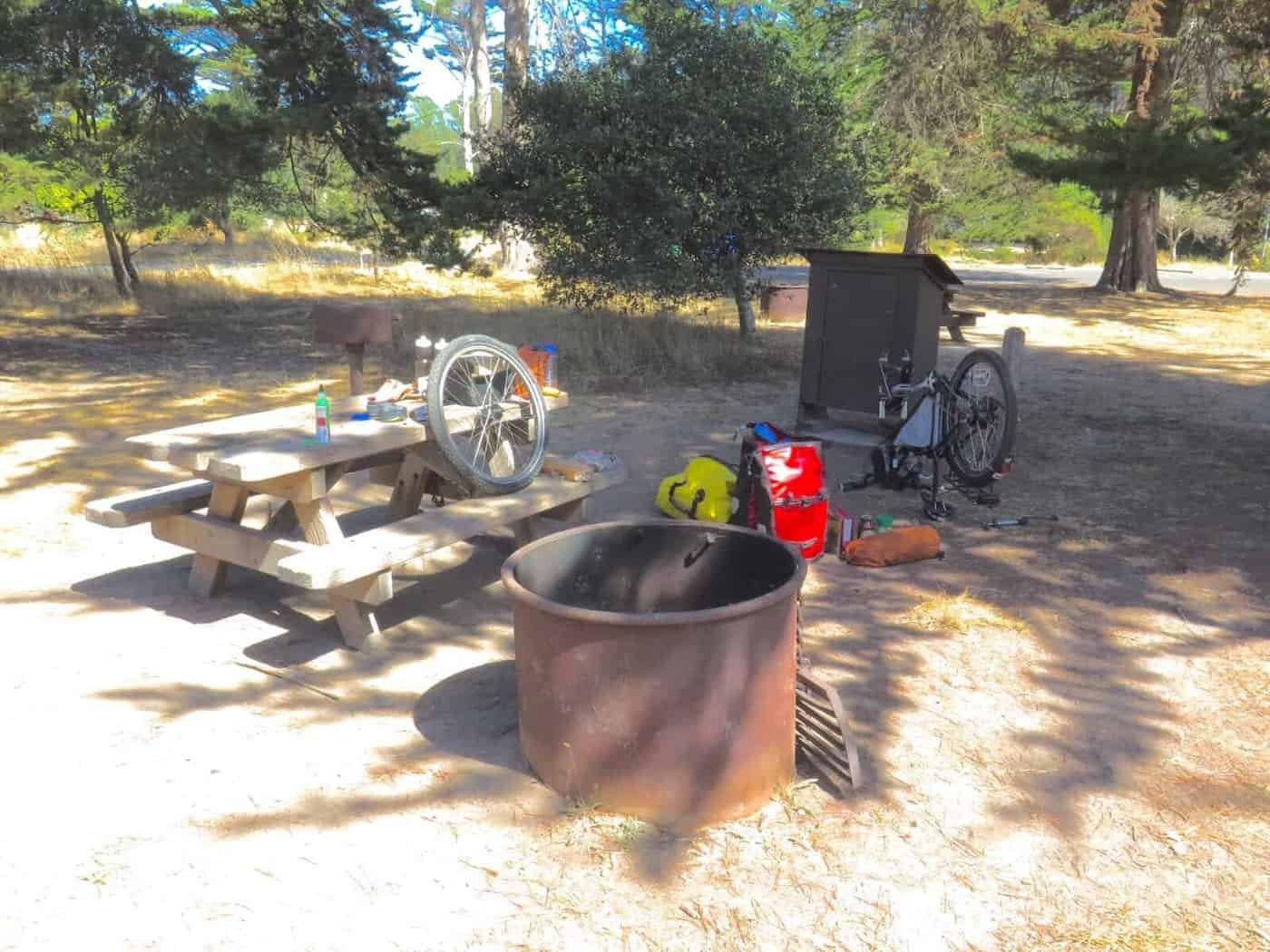 HIker Biker Campsites California