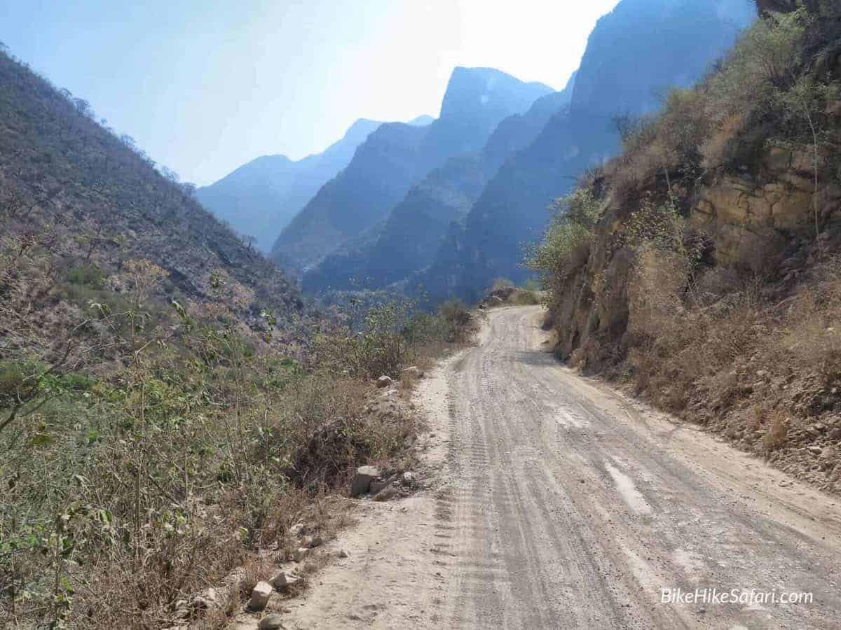 Cycling near Xichu