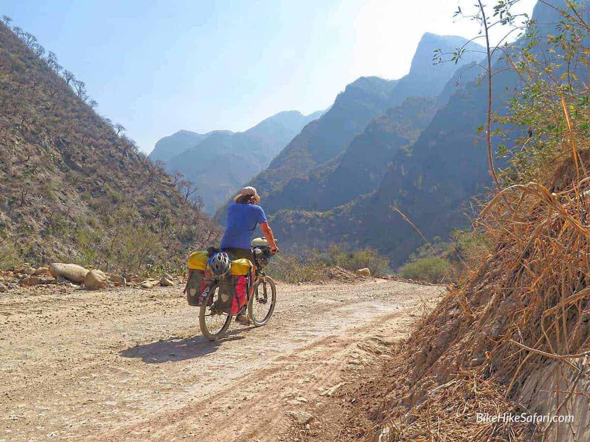 cycling sierra gorda Mexico