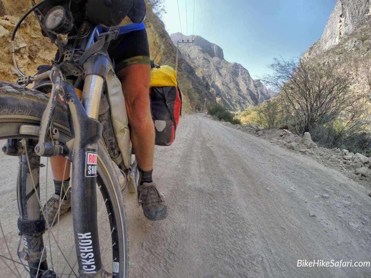 mountain biking sierra gorda