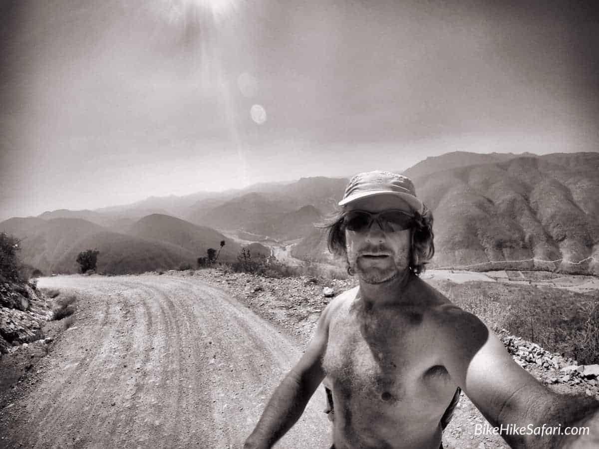selfie sierra gorda
