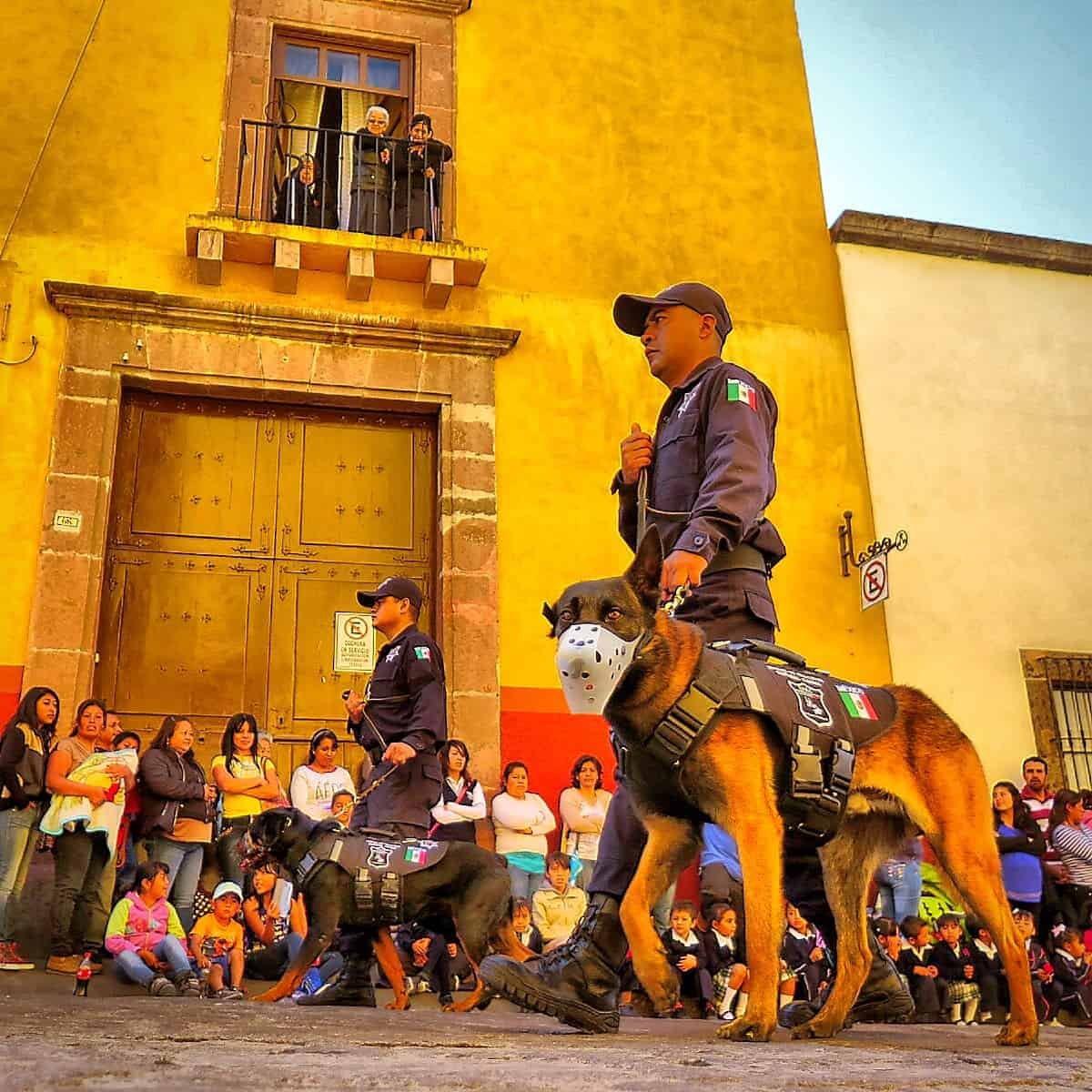 Police - Parade - San Miguel de Allende