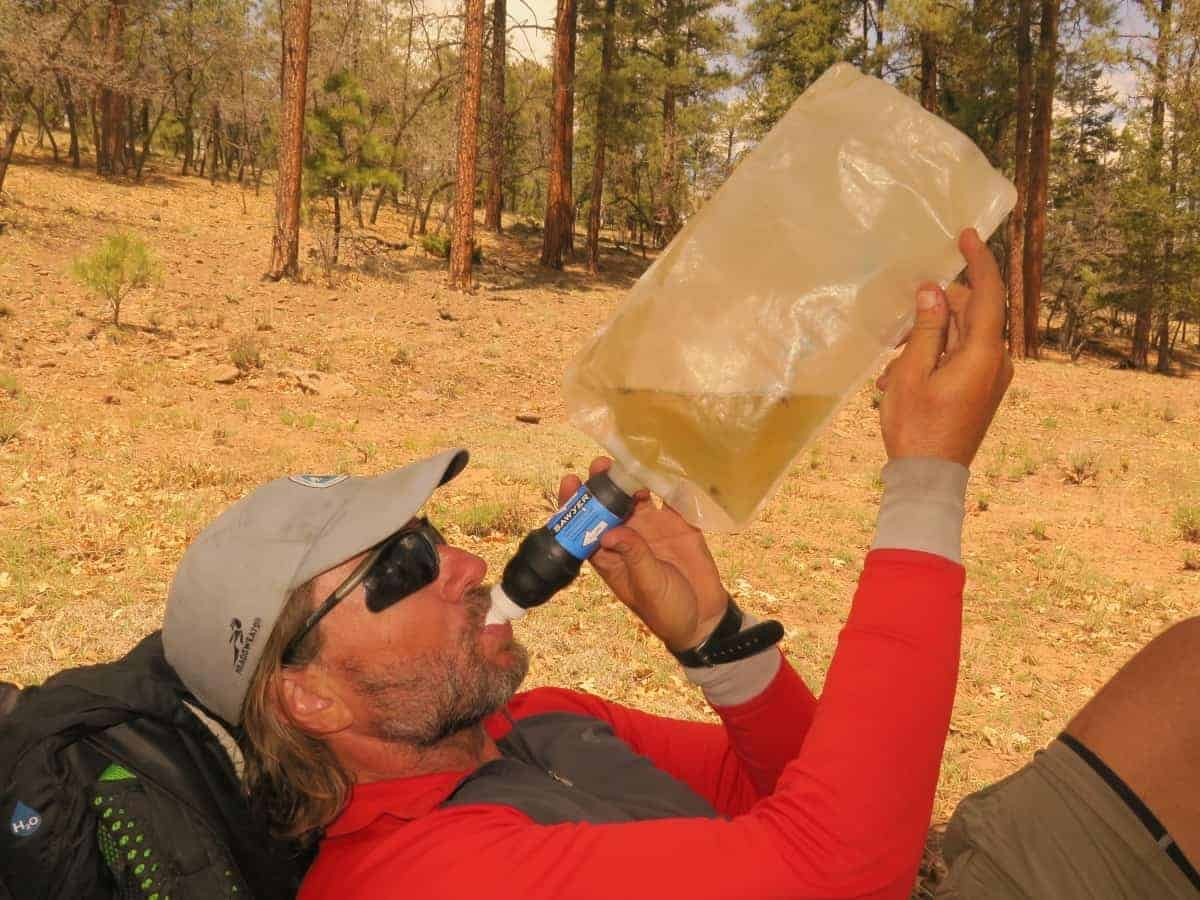 Water on the Continental Divide Trail