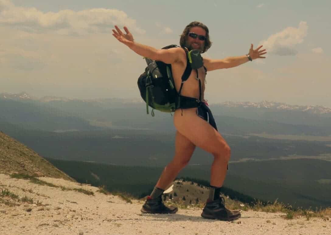 Hike naked day on the CDT