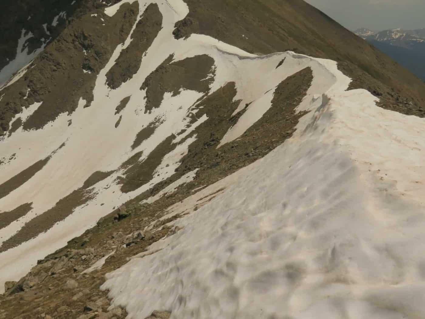 Sketchy snow on the CDT