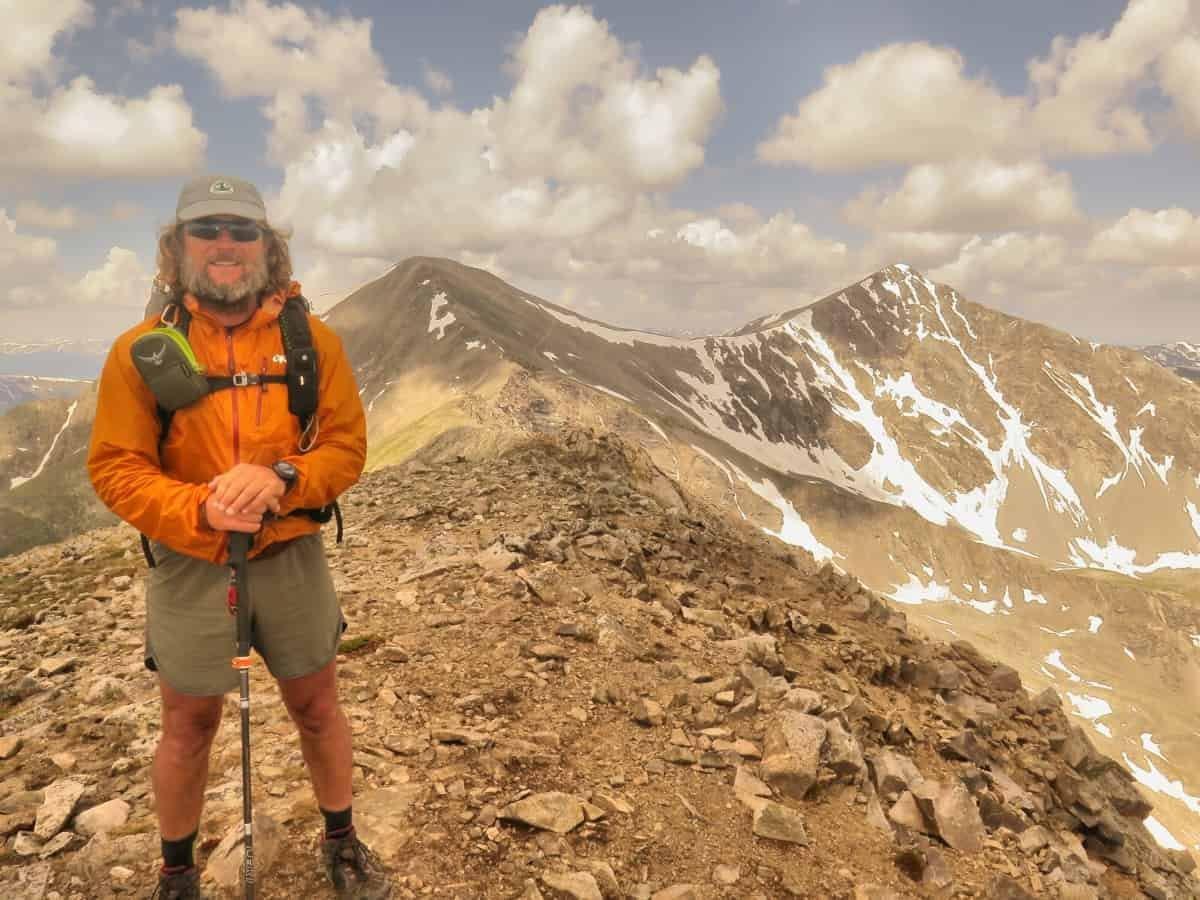 The CDT near the top of Grays Peak, Colorado