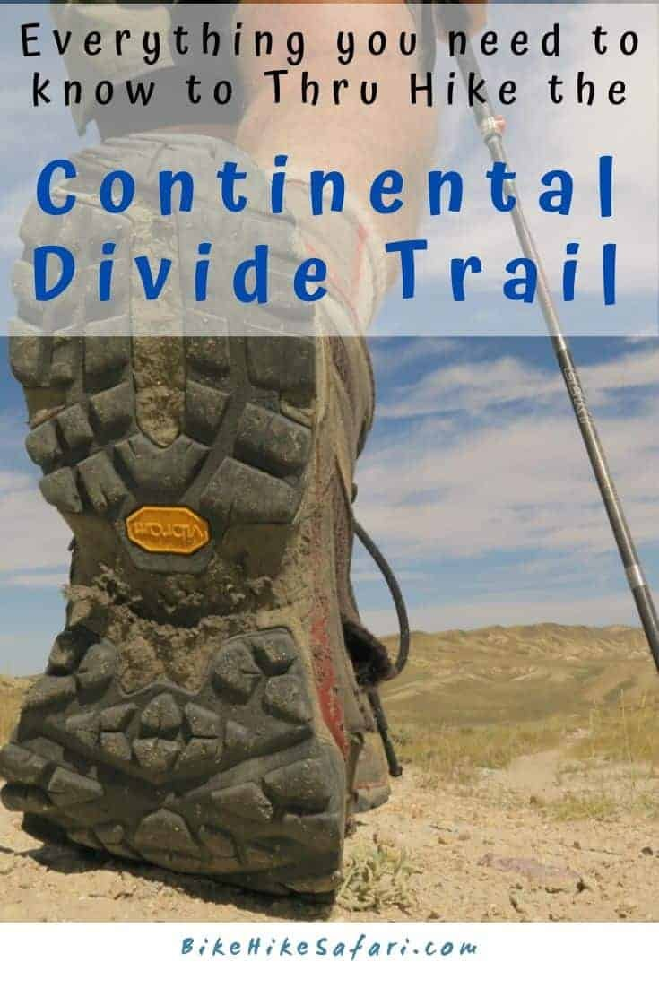 Continental Divide Trail thru hike 2