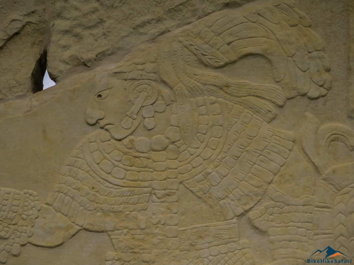 Carved Stones at Bonampak