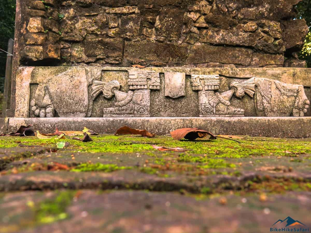 Engravings of Palenque Mexico