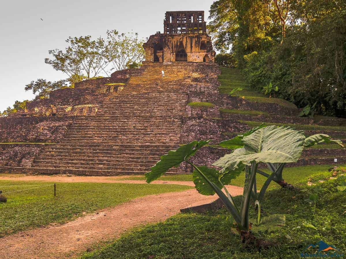 Palenque Mayan ruins