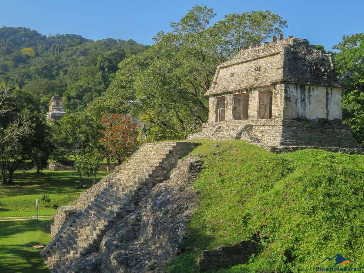 Palenque Temple and Pyramids