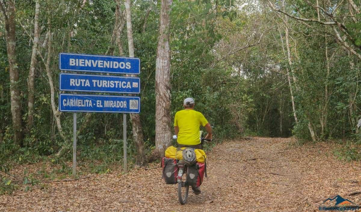 El Mirador bicycle