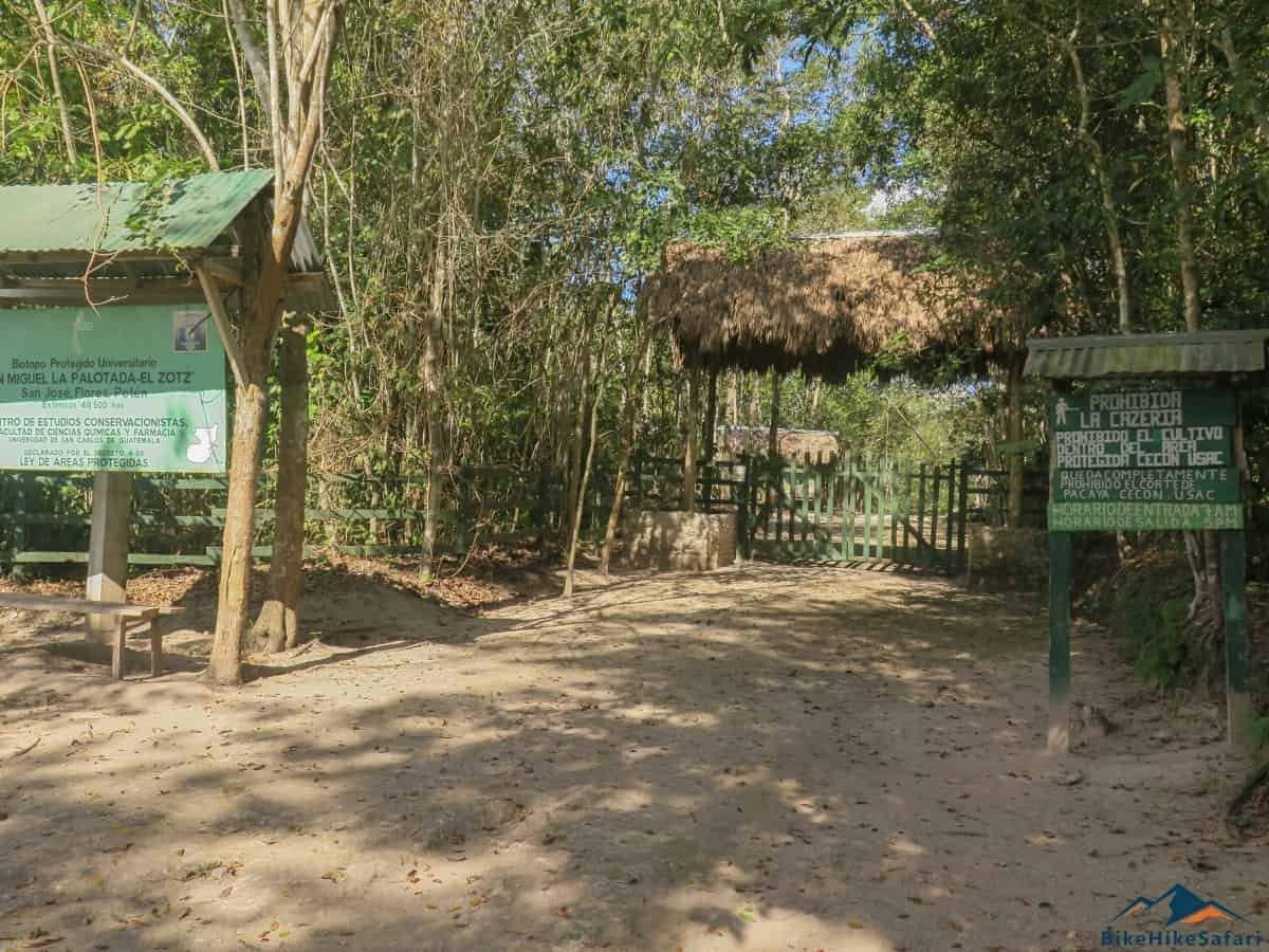 El Zotz Entrance