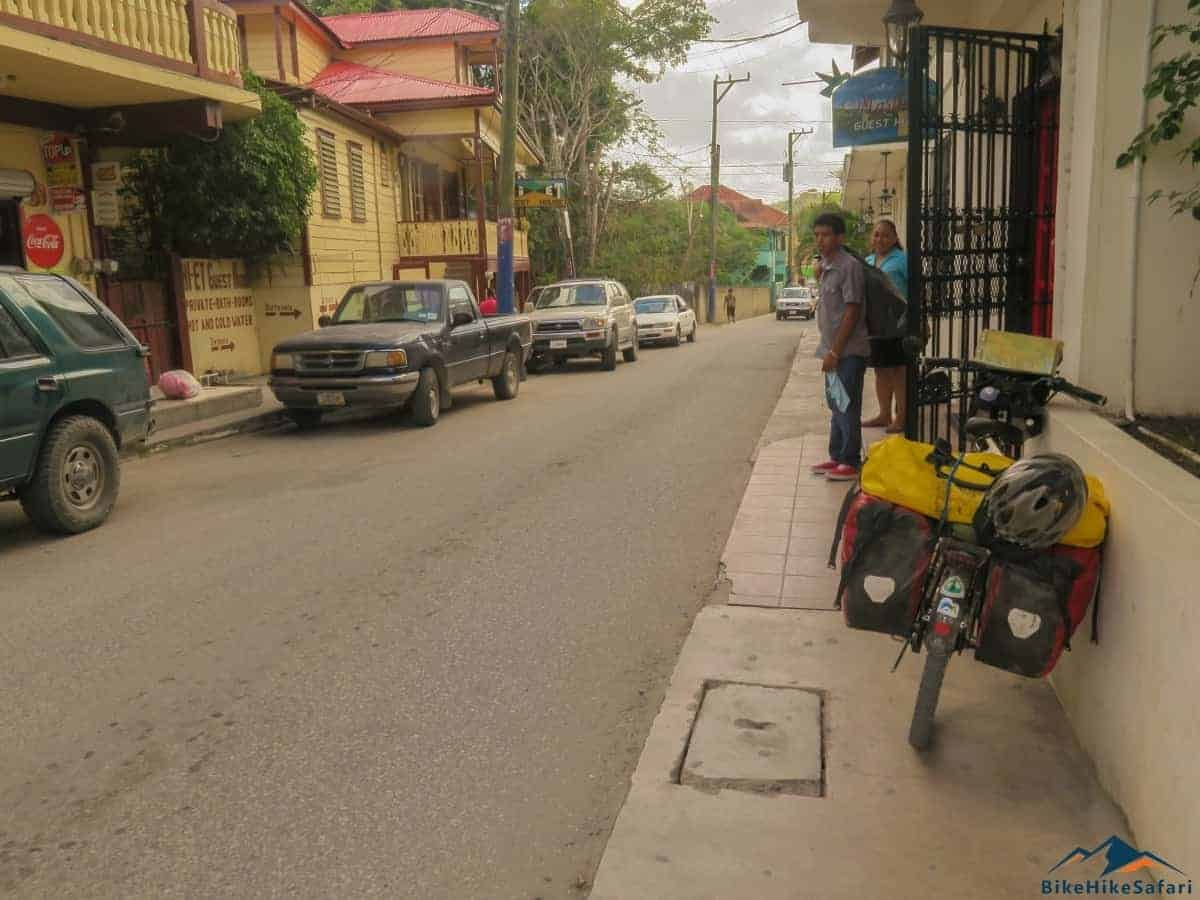Belize by bicycle
