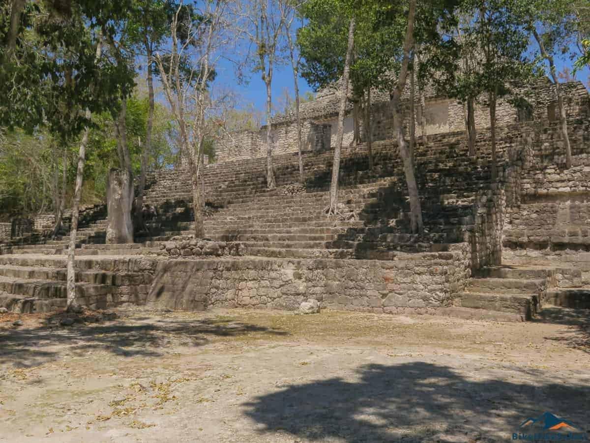 Calakmul Main plaza