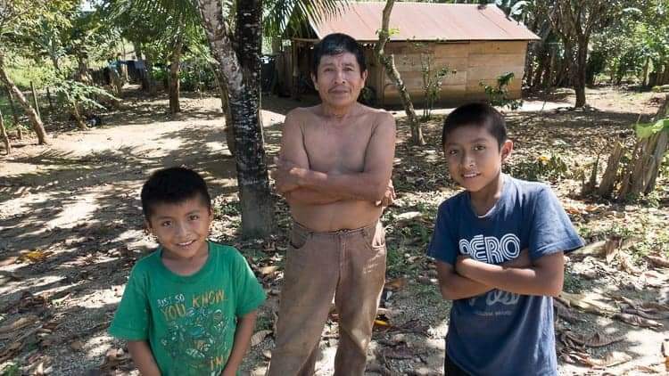 guatemala farmer family