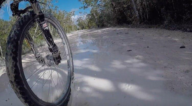 bicycle-touring-sian-kaan-mud