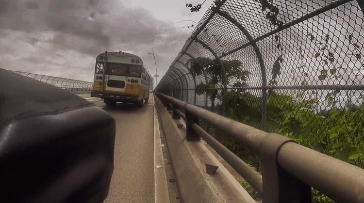 bridge of the americas bicycle touring