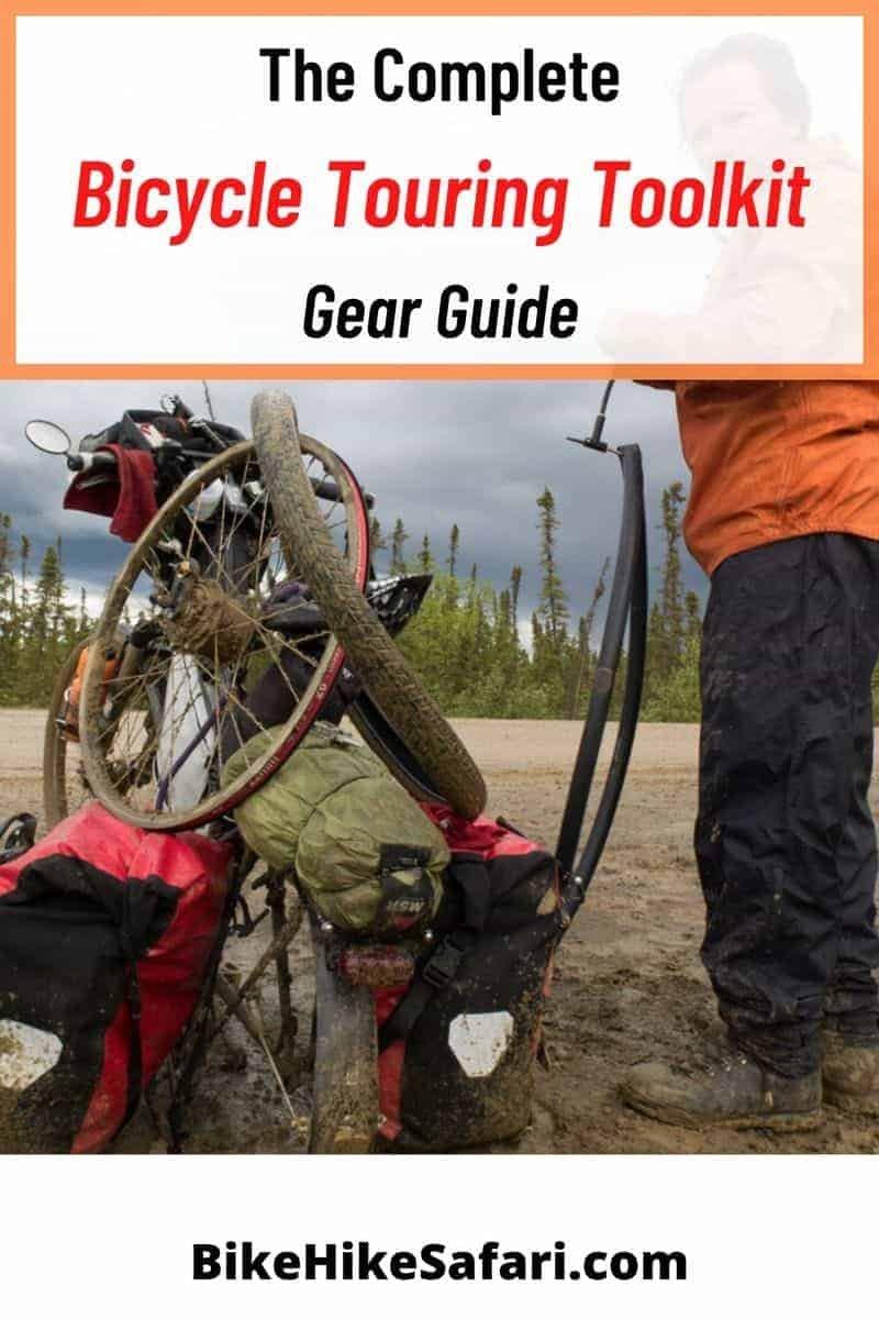 Bicycle touring toolkit