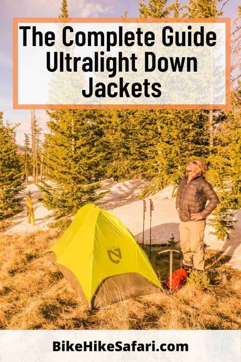 Complete guide to ultralight down jackets