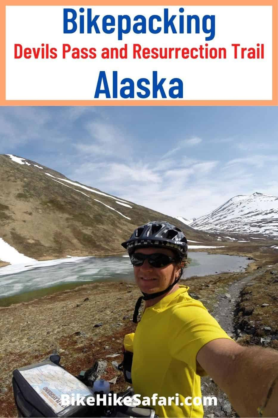 Bikepacking Devils Pass and Resurrection Trail Alaska. A Bikepacking Route Alaska in the mountains near the town of Hope on the Seward Penninsula. Quality Bikepacking and Bicycle Touring for cyclists.