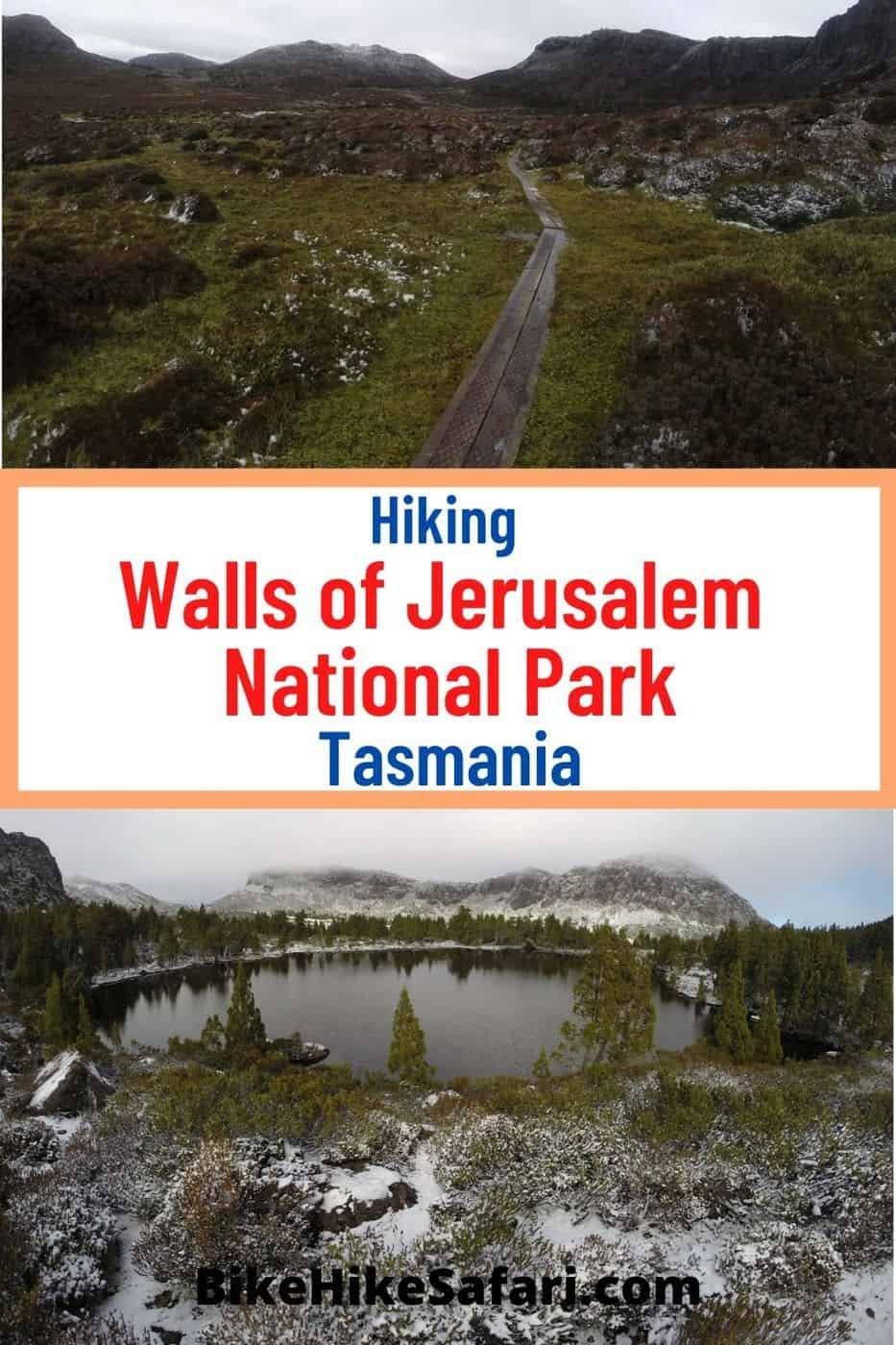 Hiking Walls of Jerusalem National Park Tasmania