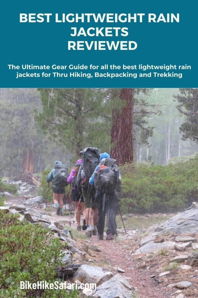 סקירת מעיל הגשם הקלה והטובה ביותר