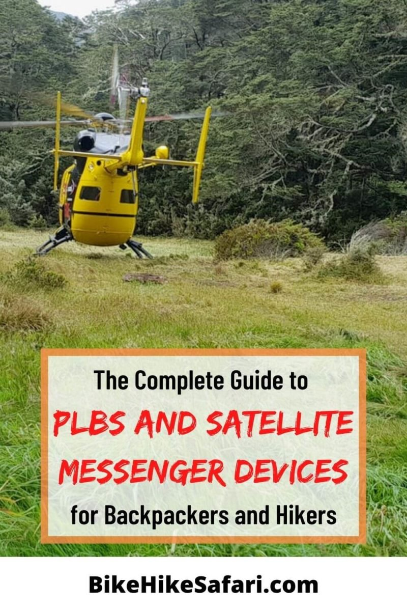 Best PLBs and Satellite Messengers for Backpackers and Hikers